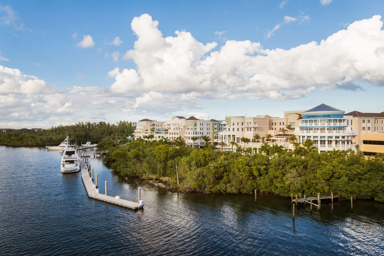 Wyndham Grand Jupiter at Harbourside Place in Royal Palm Beach, Florida