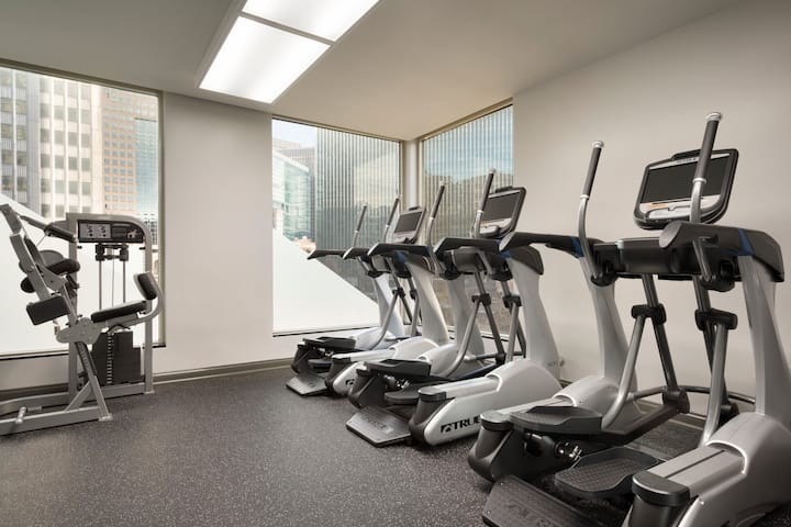 Health club at Wyndham Grand Pittsburgh Downtown in Pittsburgh, Pennsylvania