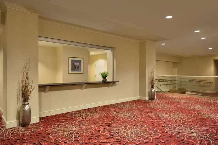 Meeting room at Wyndham Grand Pittsburgh Downtown in Pittsburgh, Pennsylvania