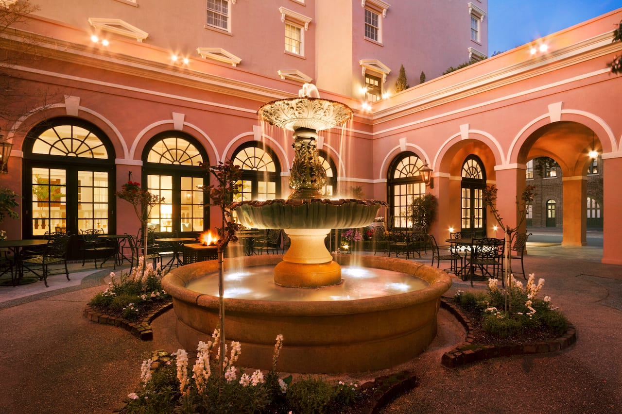 The Mills House Wyndham Grand Hotel in Charleston, South Carolina