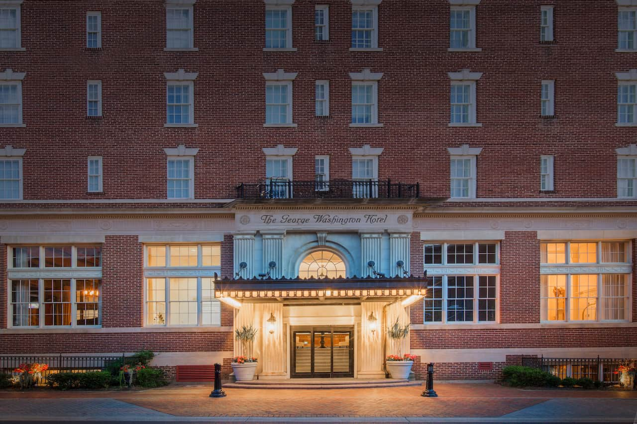 The George Washington A Wyndham Grand Hotel in Charles Town, West Virginia