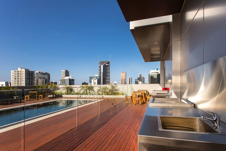 Pool At The Wyndham Hotel Melbourne In Other Than Us Canada