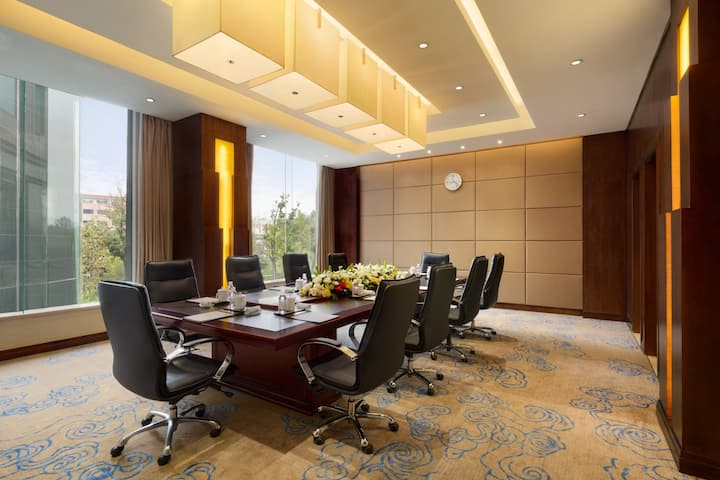 Meeting room at Wyndham Qingdao in Qingdao, Other than US/Canada