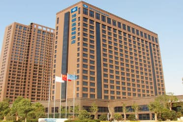 Exterior of Wyndham Xuzhou East hotel in Xuzhou, Other than US/Canada