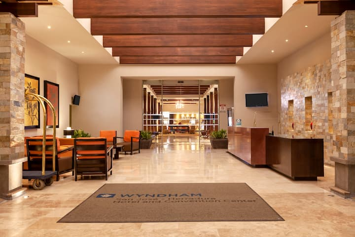 Wyndham San Jose Herradura Hotel & Convention Center hotel lobby in San Jose, Other than US/Canada