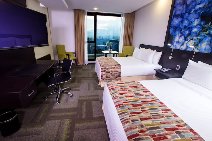 Guest room at the Wyndham Quito Airport in Quito, Other than US/Canada