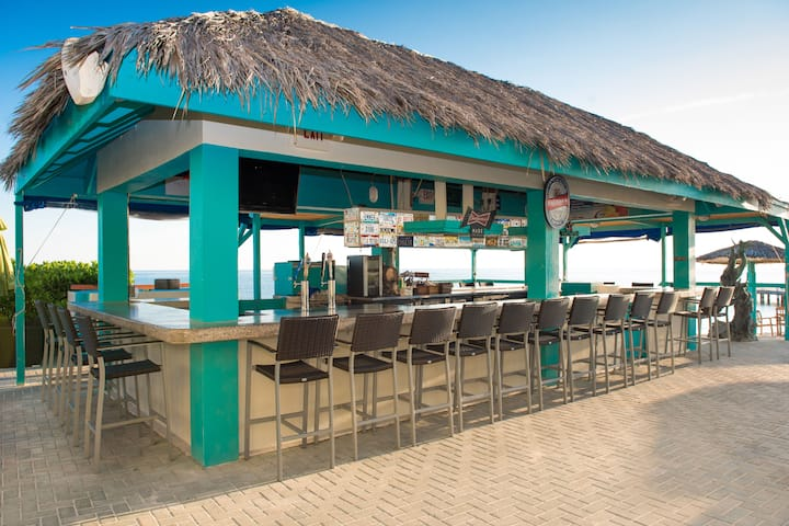 Bar at Wyndham Reef Resort in East End, Other than US/Canada