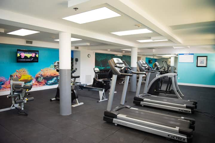 Health club at Wyndham Reef Resort Grand Cayman in East End, Other than US/Canada