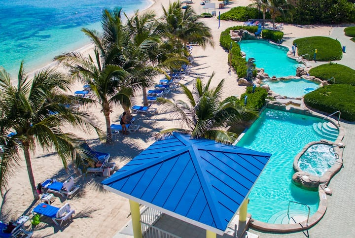 Pool at the Wyndham Reef Resort Grand Cayman in East End, Other than US/Canada