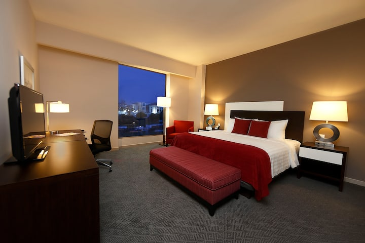 Guest room at the Wyndham Panama Albrook Mall Hotel & Convention Center in Panama City, Other than US/Canada