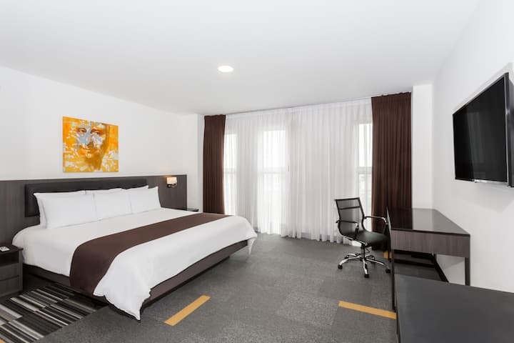 Guest room at the Wyndham Costa del Sol Lima Airport in Lima, Other than US/Canada