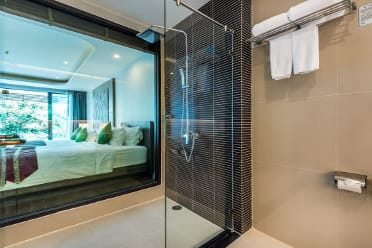 Guest room at the Wyndham Sea Pearl Resort Phuket in Phuket, Other than US/Canada