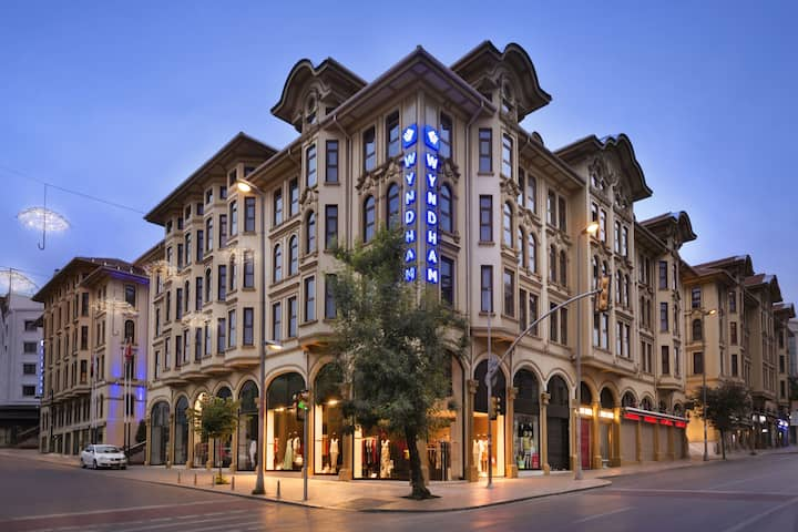 Exterior of Wyndham Istanbul Old City hotel in Istanbul, Other than US/Canada