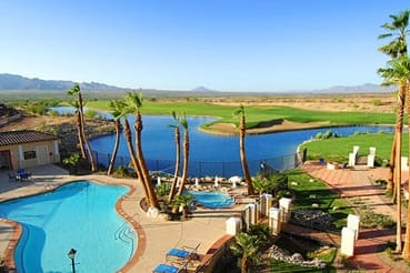 Pool at the Wyndham Green Valley Canoa Ranch Resort in Green Valley, Arizona