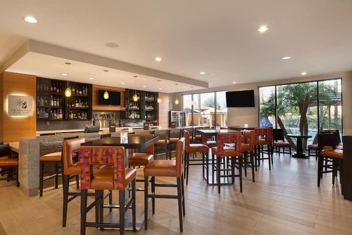 Bar at Wyndham Anaheim Garden Grove in Anaheim, California