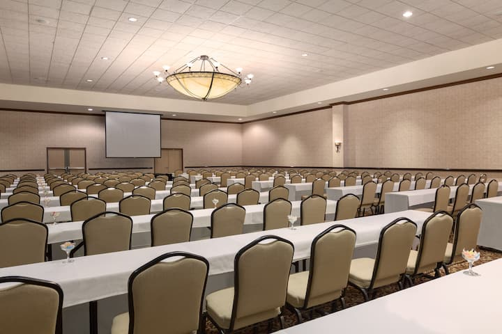 Meeting room at Wyndham Anaheim Garden Grove in Anaheim, California