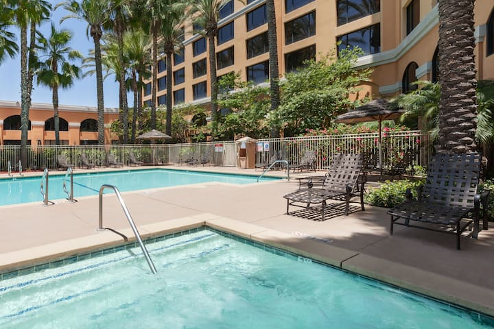 Pool at the Wyndham Anaheim Garden Grove in Anaheim, California