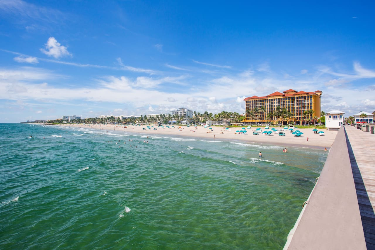 Wyndham Deerfield Beach Resort in Boca Raton, Florida