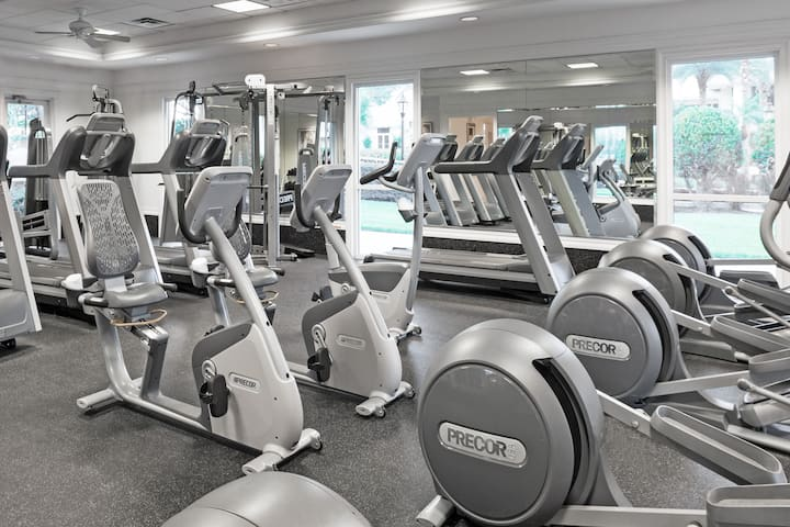 Health club at Wyndham Orlando Resort International Drive in Orlando, Florida