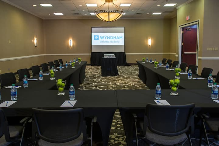 Meeting room at Wyndham Atlanta Galleria in Atlanta, Georgia