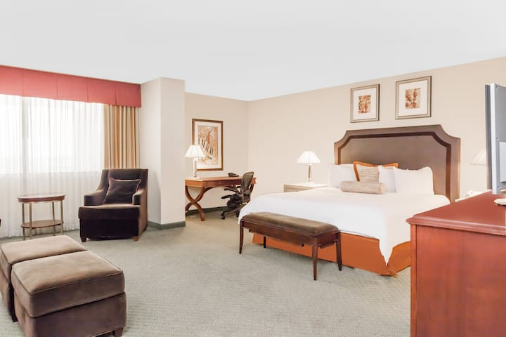 Wyndham Indianapolis West suite in Indianapolis, Indiana