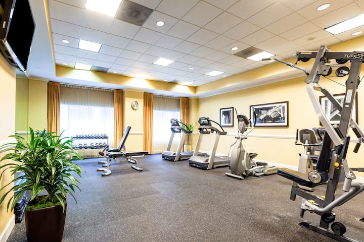 Health club at Wyndham Cleveland at Playhouse Square in Cleveland, Ohio