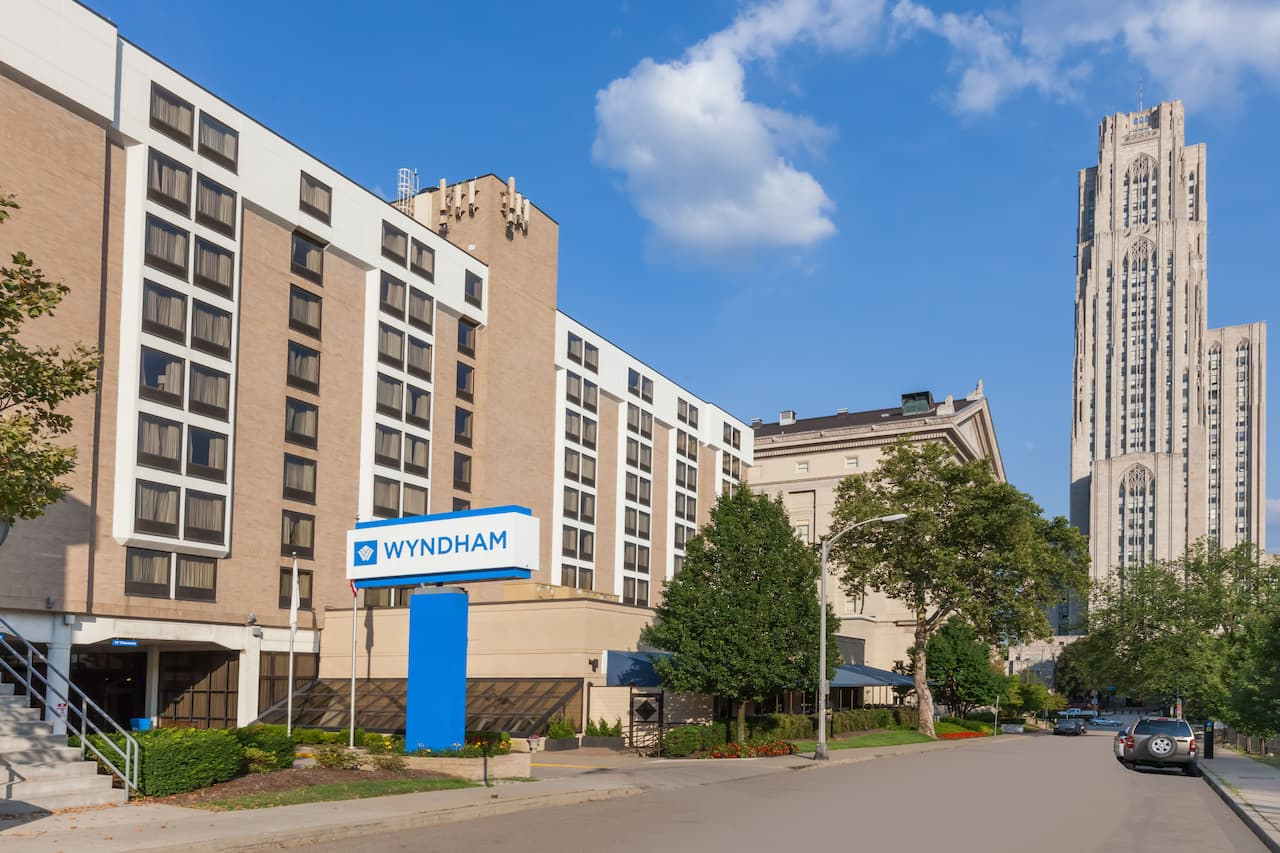 Wyndham Pittsburgh University Center in McKees Rocks, Pennsylvania