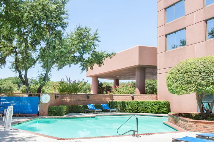 Pool at the Wyndham Dallas Suites - Park Central in Dallas, Texas