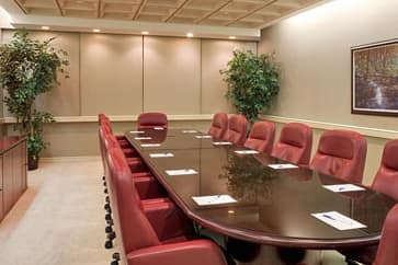 Meeting room at Wyndham El Paso Airport Hotel and Water Park in El Paso, Texas