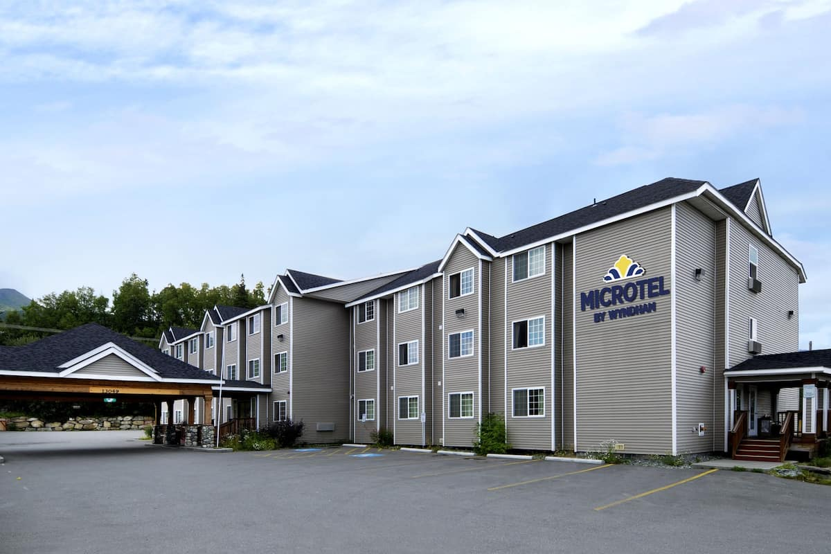 Exterior Of Microtel Inn Suites By Wyndham Eagle River Anchorage Are Hotel In