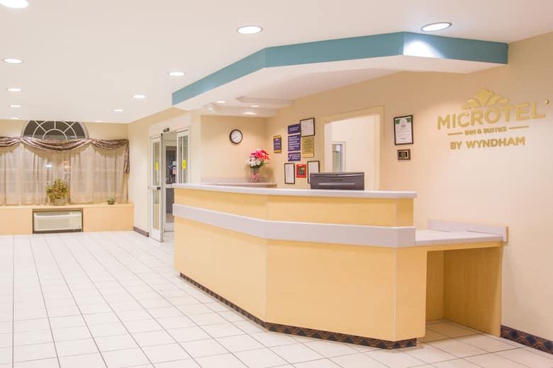 Microtel Inn Suites By Wyndham Albertville Hotel Lobby In Alabama
