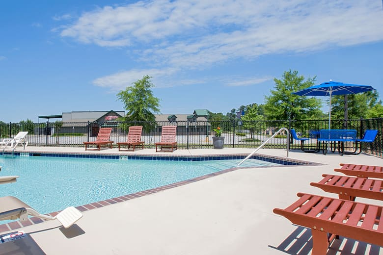 Pool At The Microtel Inn Suites By Wyndham Gardendale In Alabama
