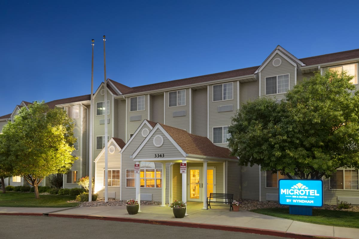 Exterior Of Microtel Inn Suites By Wyndham Pueblo Hotel In Colorado