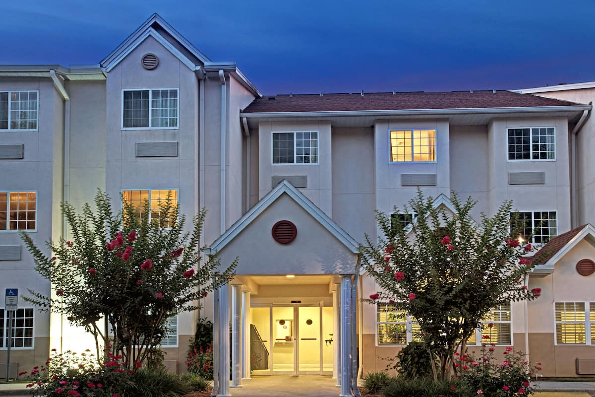 Exterior Of Microtel Inn Suites By Wyndham Brooksville Hotel In Florida