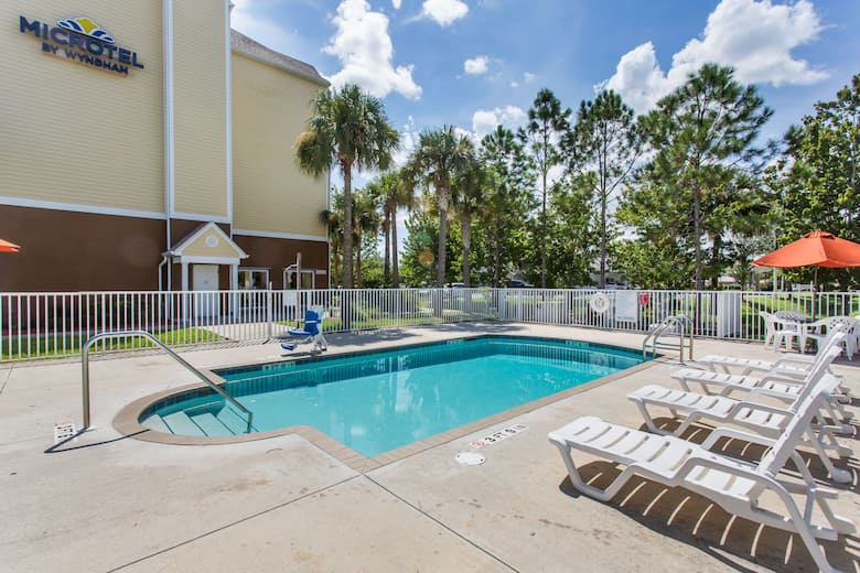 Pool At The Microtel Inn Suites By Wyndham Lehigh In Acres Florida