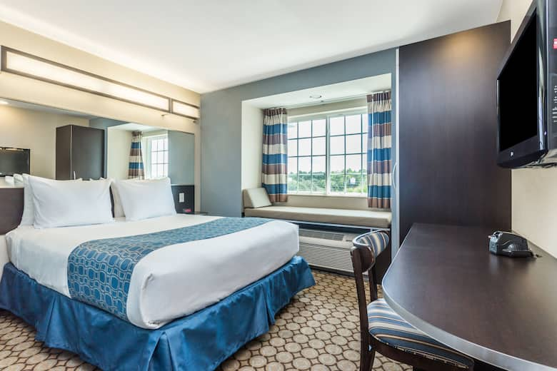 Guest Room At The Microtel Inn Suites By Wyndham Spring Hill Weeki Wachee In