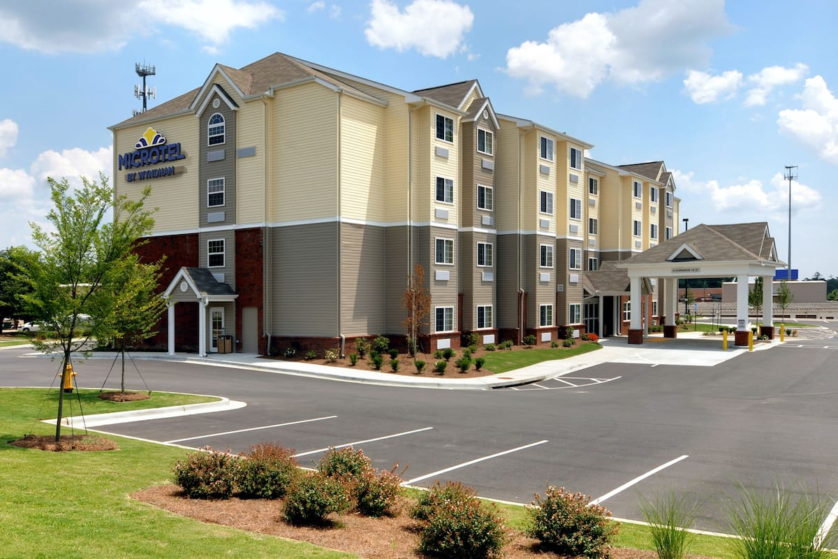 Exterior Of Microtel Inn Suites By Wyndham Columbus Near Fort Benning Hotel In