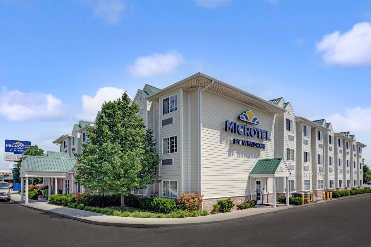 Exterior Of Microtel Inn Suites By Wyndham Indianapolis Airport Hotel In Indiana