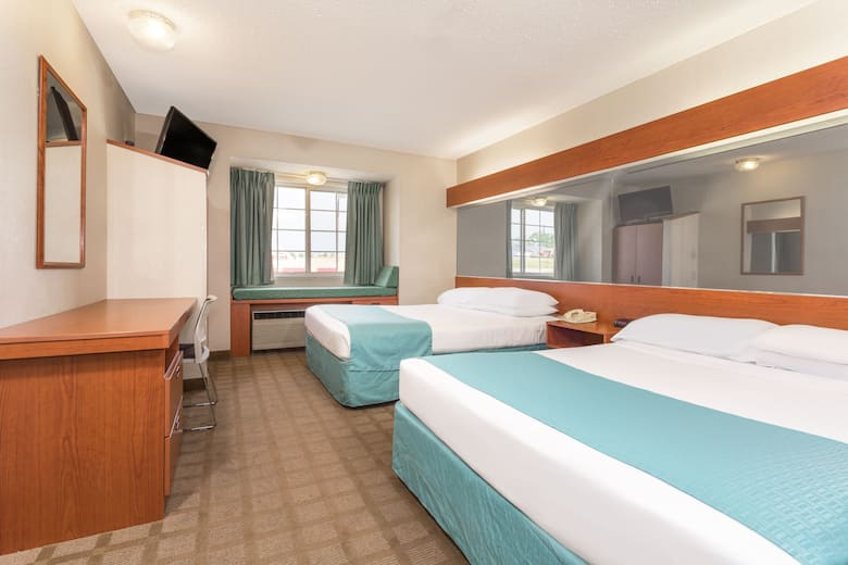 Guest Room At The Microtel Inn Suites By Wyndham Dry Ridge In