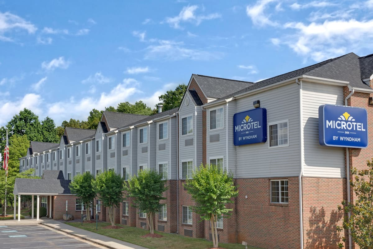 Exterior Of Microtel Inn Suites By Wyndham Charlotte University Place Hotel In