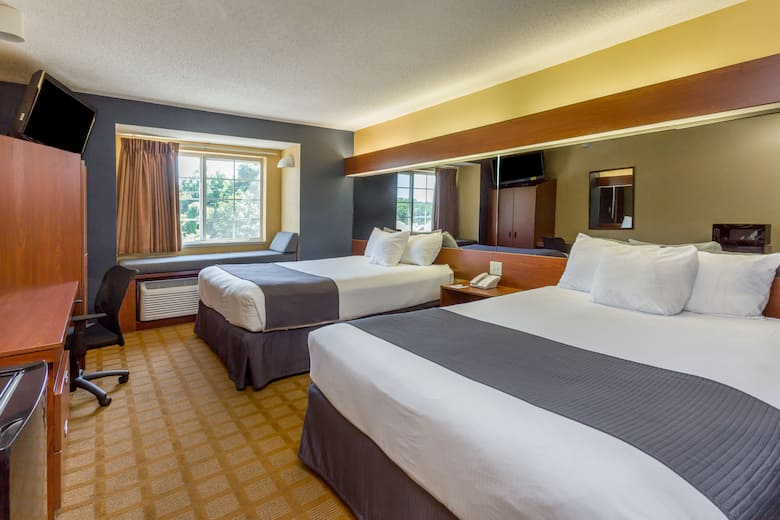 Guest Room At The Microtel Inn Suites By Wyndham Hillsborough In North Carolina