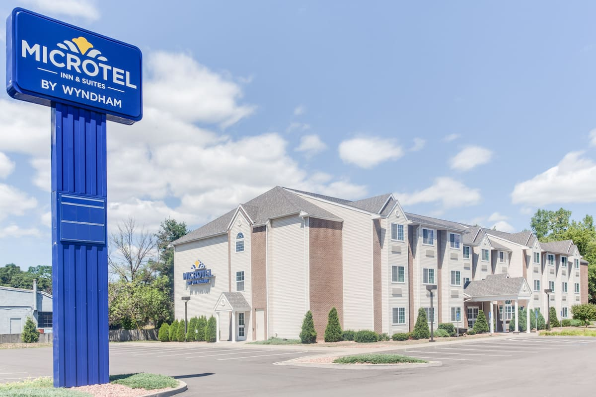 Exterior Of Microtel Inn Suites By Wyndham Bath Hotel In New York