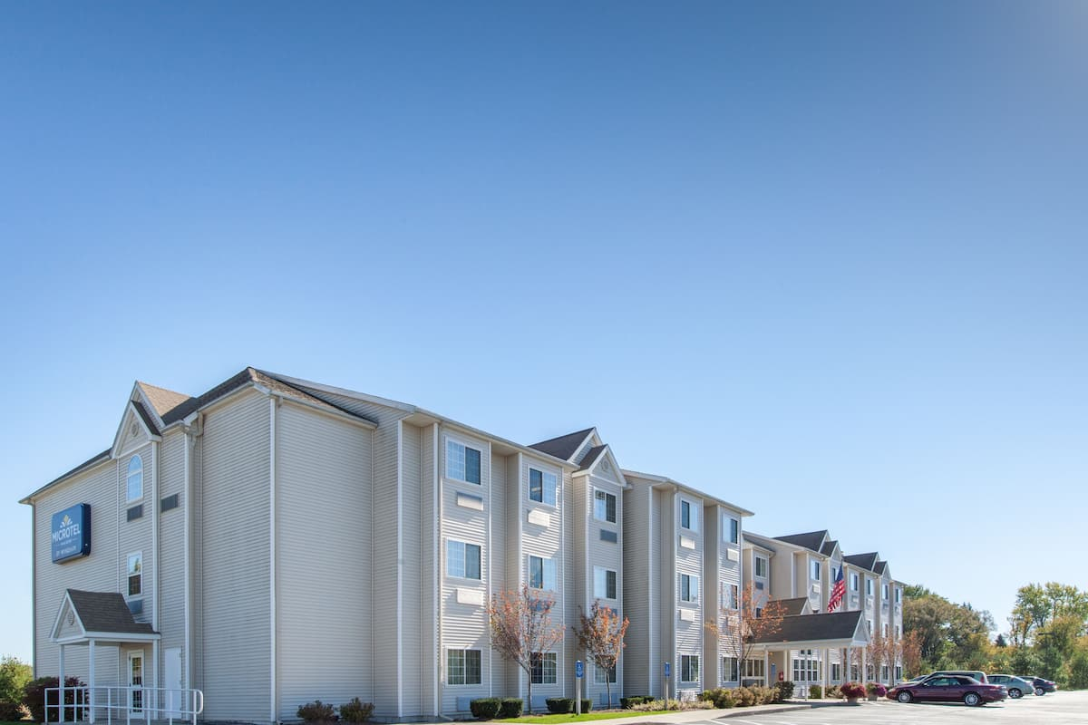 Exterior Of Microtel Inn Suites By Wyndham Johnstown Hotel In New York