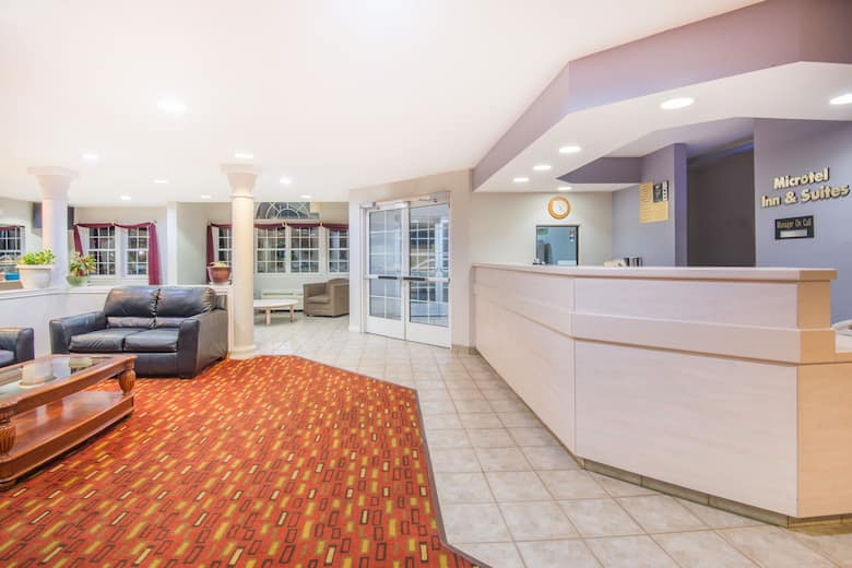 Microtel Inn Suites By Wyndham Claremore Hotel Lobby In Oklahoma