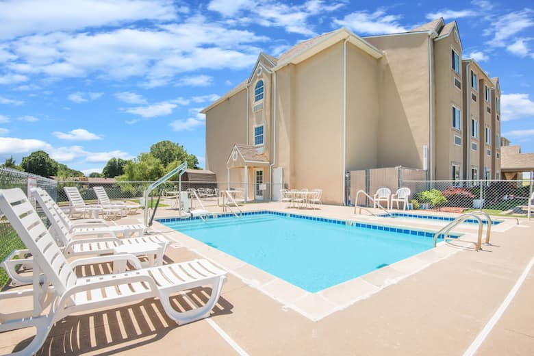 Pool At The Microtel Inn Suites By Wyndham Claremore In Oklahoma