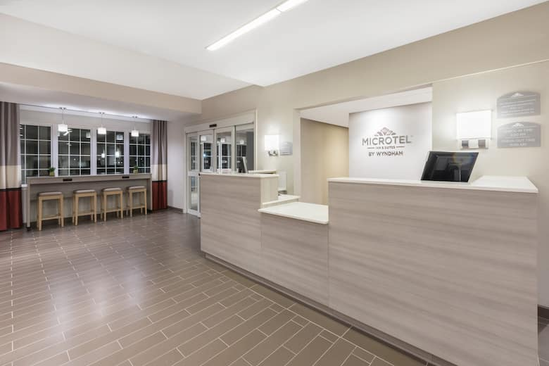 Microtel Inn Suites By Wyndham Perry Hotel Lobby In Oklahoma