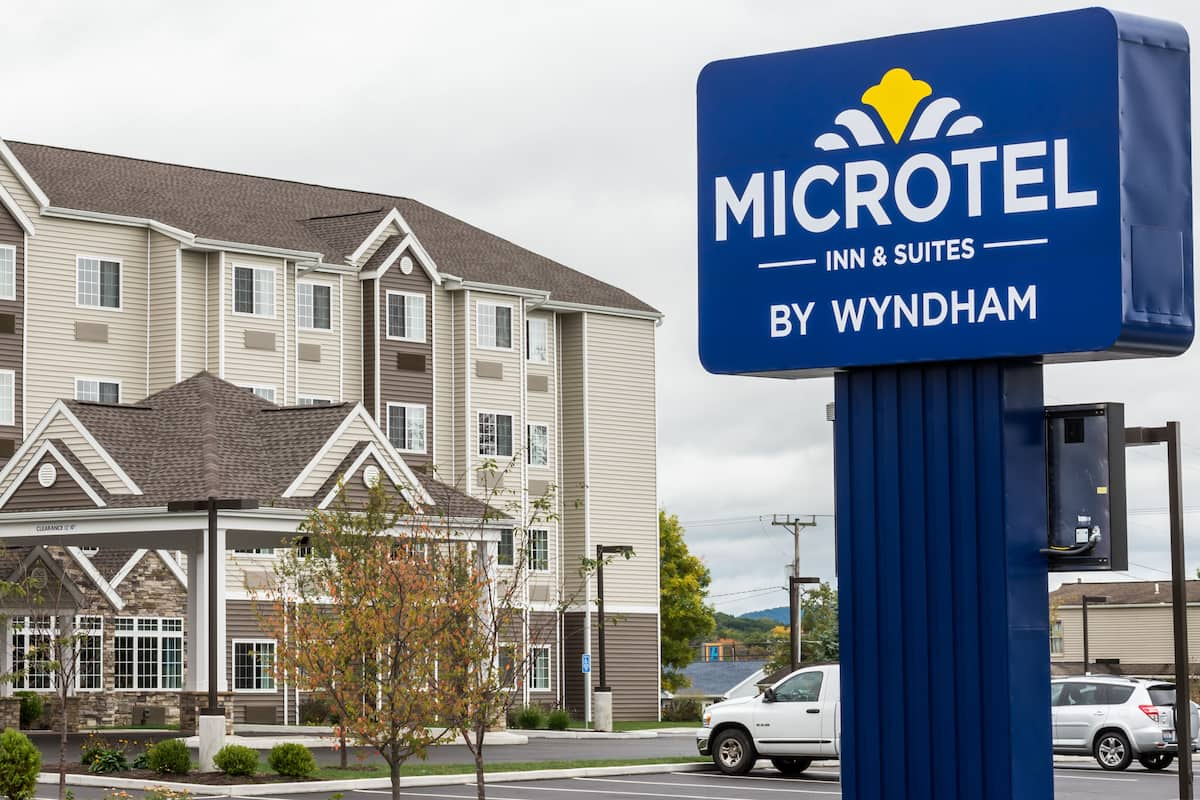 Exterior Of Microtel Inn Suites By Wyndham Altoona Hotel In Pennsylvania
