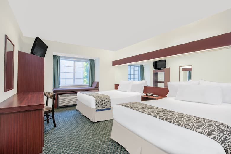 Guest Room At The Microtel Inn Suites By Wyndham Hamburg In Pennsylvania