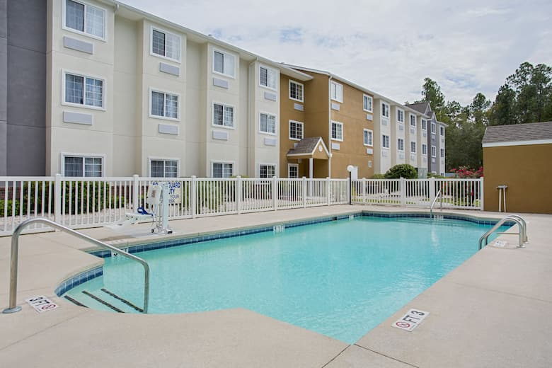 Pool At The Microtel Inn Suites By Wyndham Walterboro In South Carolina