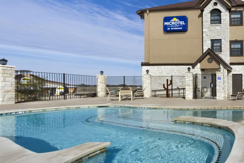 Pool At The Microtel Inn Suites By Wyndham Buda Cabela S In Texas
